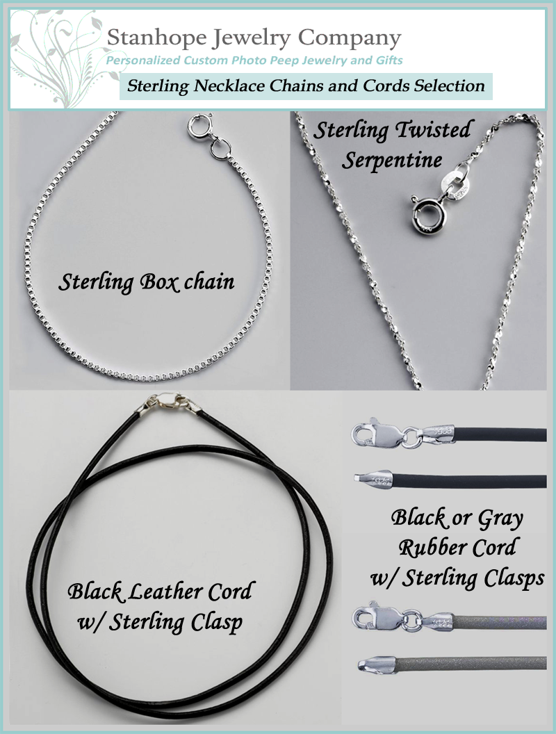 Stanhope Jewelry Necklace & Cord Selection