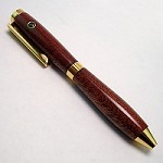 African Mahogany Credit Card Stanhope Pen
