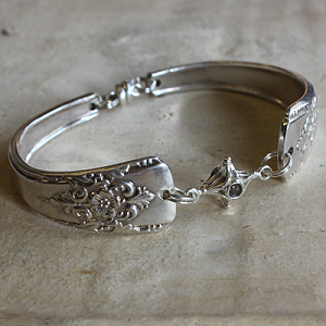 Silverware Bracelet with Stanhope Charm
