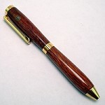 Exotic Lacewood Credit Card Stanhope Pen