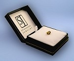 14k Gold Barrel Charm with Stanhope View