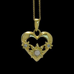 Stanhope CZ Heart Necklace